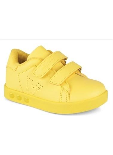 Vicco  313.E19K.100 Oyo Işıklı Kız/Erkek Çocuk Spor Ayakkabı Sarı